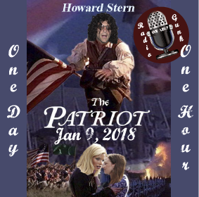January 9, 2018 – Howard Stern – The Patriot
