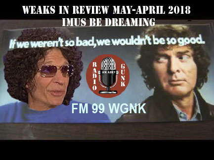 Weaks in Review Early April 2018 – Imus Be Dreaming