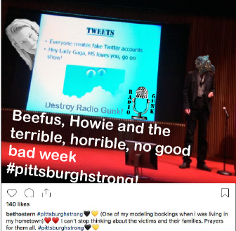 Beefus, Howie and the terrible, horrible, no good bad week