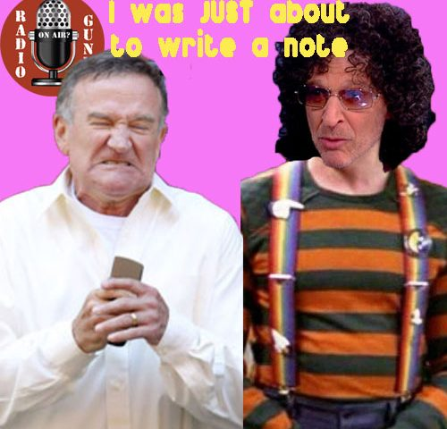 Howard Stern Lies about Robin Williams