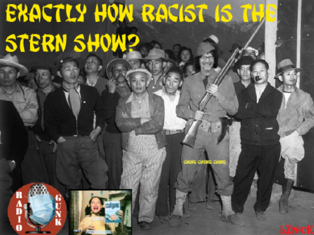Exactly HOW racist is the Stern Show?
