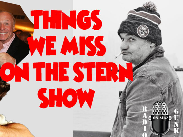 Things We Miss on the Stern Show