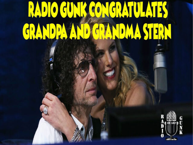 Radio Gunk Congratulates Grandma and Grandpa Stern!
