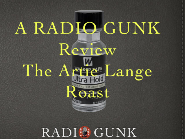 Radio Gunk Reviews the Artie Lange Roast