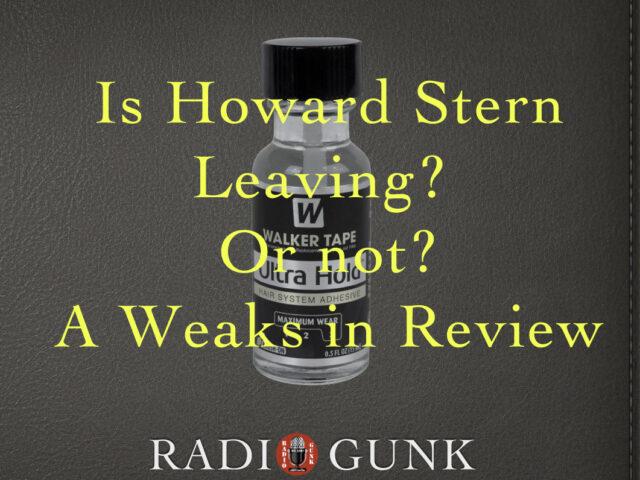 Is Howard leaving or not? A Weaks in Review