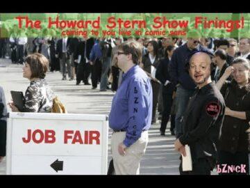 Stern Show Firings! Brent Hatley FIRED, Scott Salem FIRED!